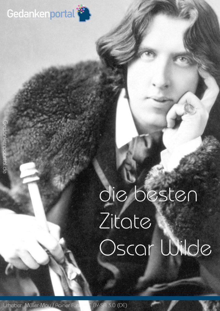 Oscar Wilde Zitate und Weisheiten