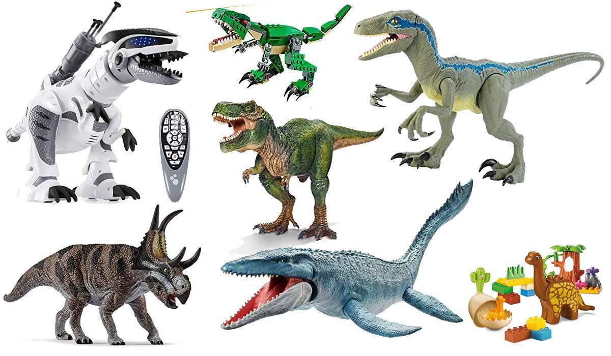 Dinosaurier-Spielzeug-Figuren